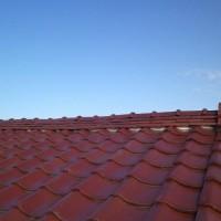 事例① ずれた屋根瓦の修理