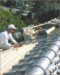 事例② 屋根瓦の葺き替え