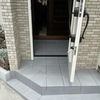 玄関ポーチのスペースの改善(リフォーム例)